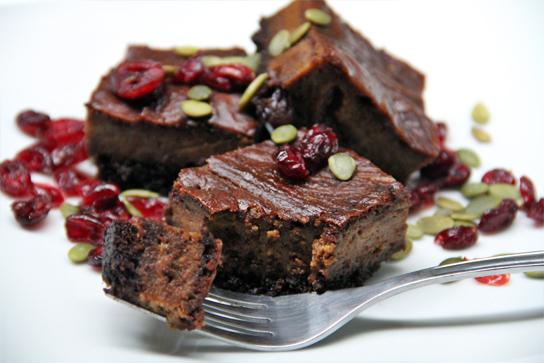 Pumpkin Cheesecake Brownies - Active Vegetarian