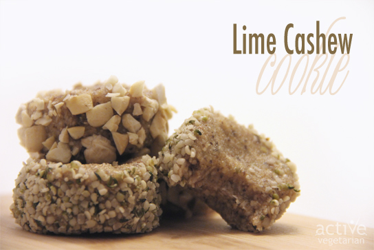 Lime Cashew Cookie