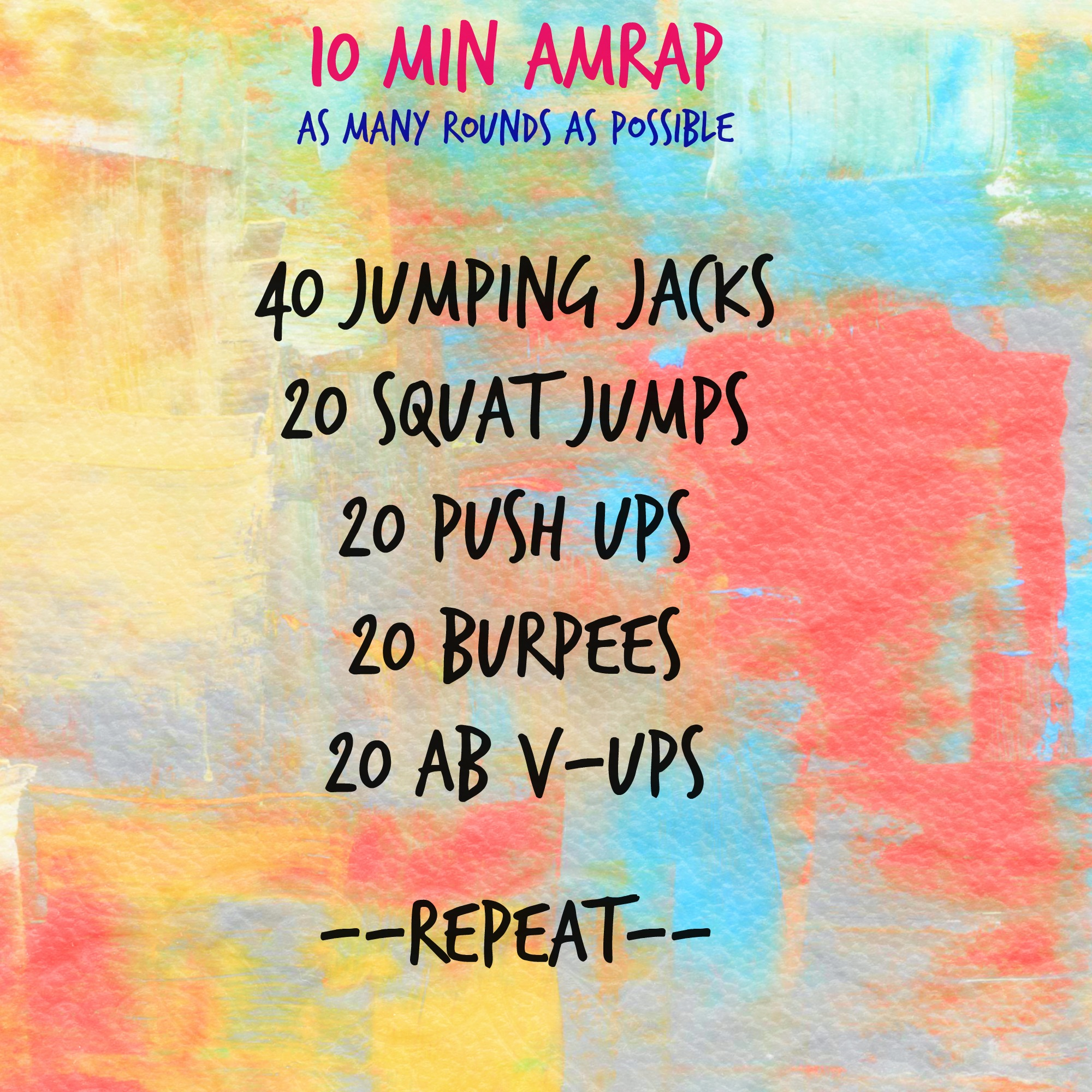 10 Min High Intensity Workout