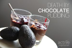 Death By Chocolate Vegan Pudding