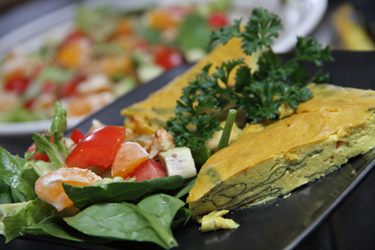 Vegan Red Pepper Amp Spinach Quesadillas Pictures to pin on Pinterest