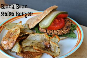 Black-Bean-Salsa-Burger