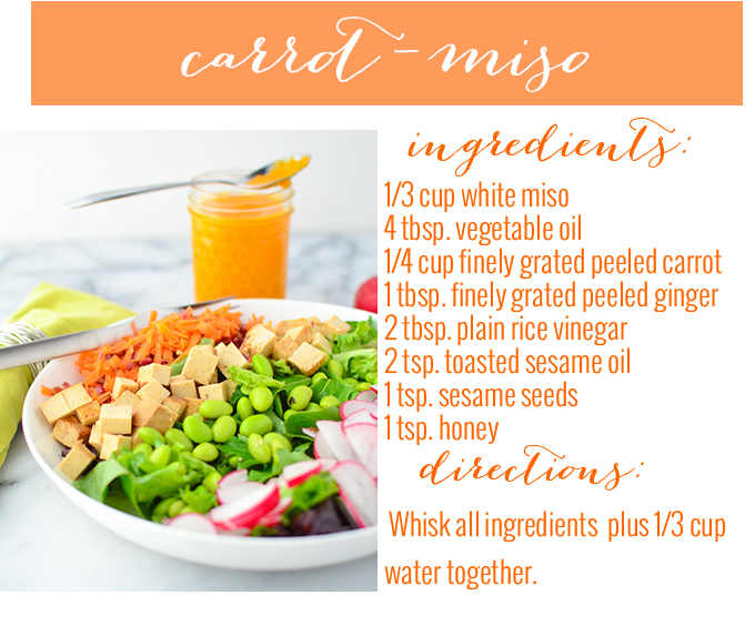 carrot miso dressing