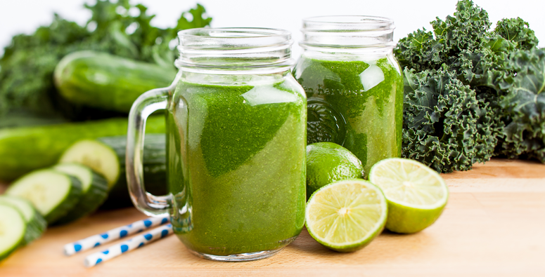 Cucumber-Lime-and-Kale-Smoothie