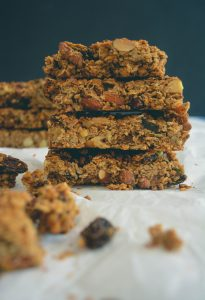 Almond Butter Maple Granola Bars + Faith and Miracles