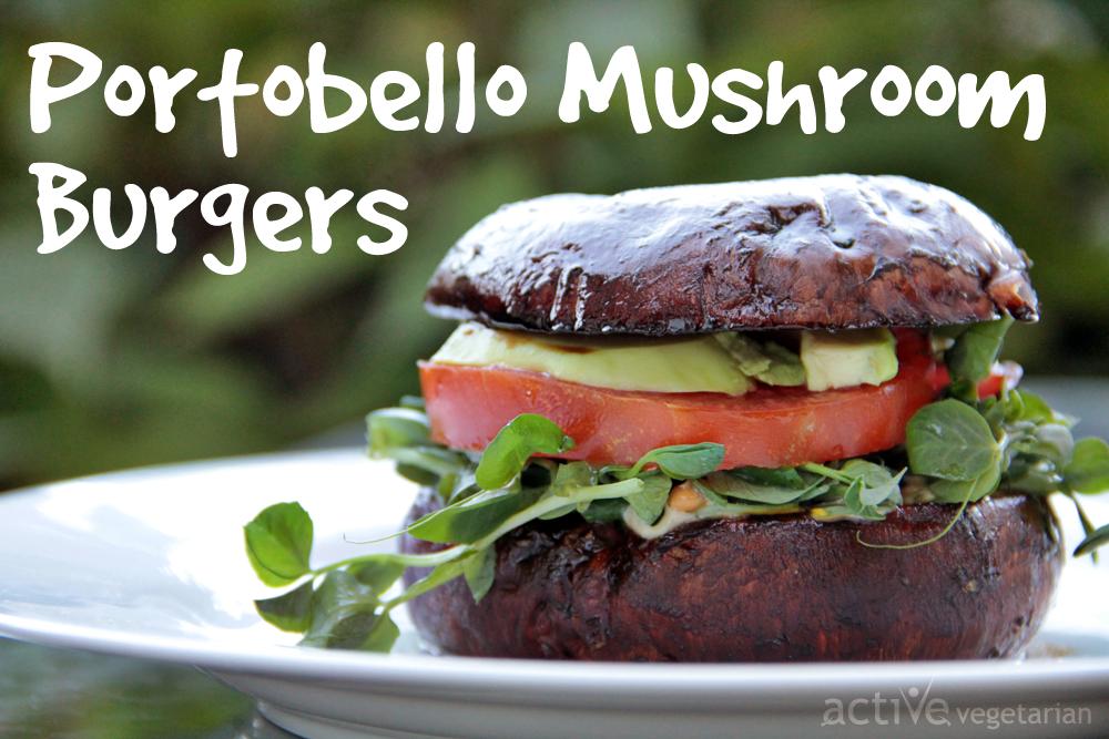Portobello Mushroom Burger Recipe — Dishmaps