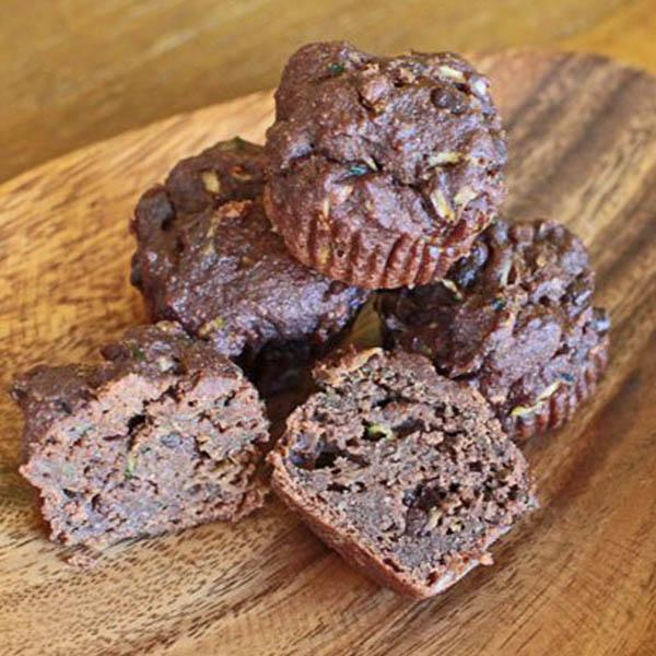 Healthy Two-Bite Brownies