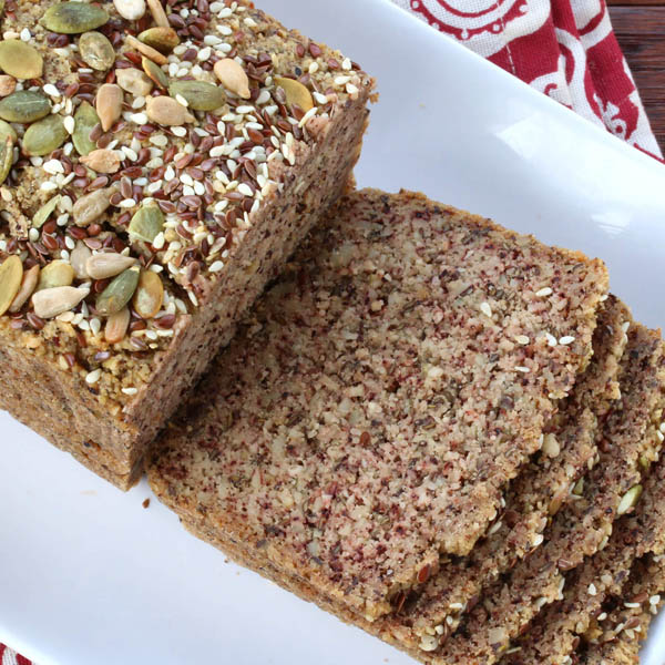 Low Carb High Protein Nut & Seed Bread (Paleo)