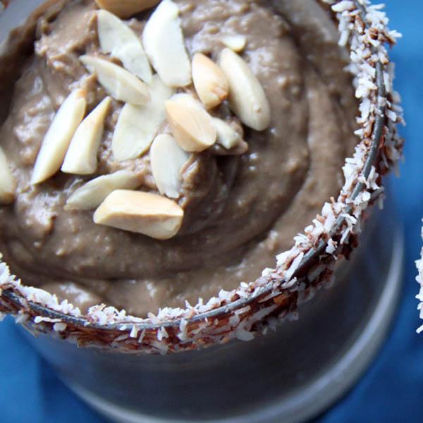 Almond Joy Vegan Parfait